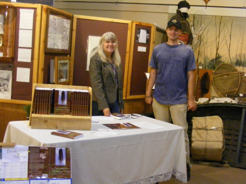 Book Signing at Champlain Trail Museum