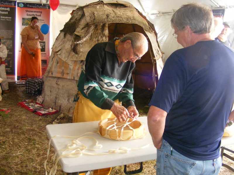 securing a drum hide to form